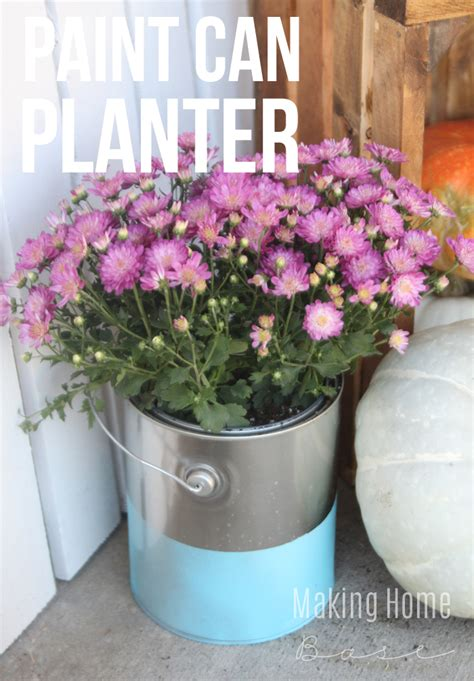 Alternative Planters by Alternatives For Traditional Planters Paint Can Planters