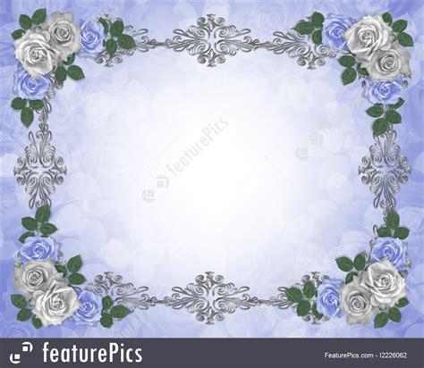 Wedding Anniversary Border Design by Templates Wedding Invitation Border Stock