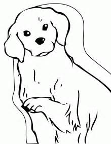 golden retriever coloring pages golden retriever puppy coloring pages printable coloring
