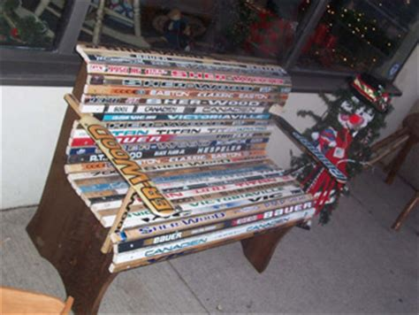 hockey stick bench wood workhockey stick bench plans how to build diy woodworking blueprints pdf download