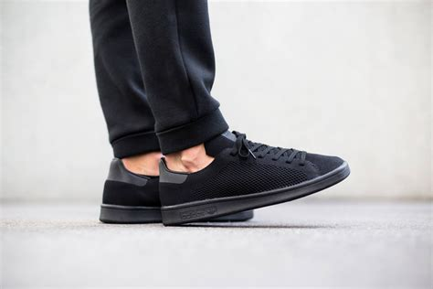 Adidas Stan Smith All Black adidas stan smith flyknit oltrelosguardo it