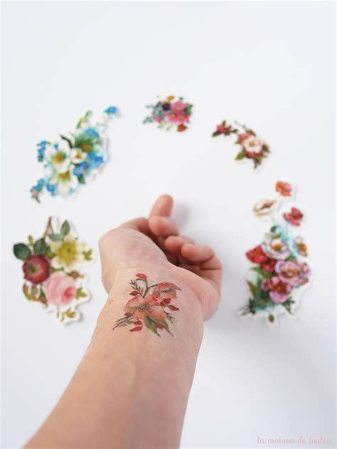 floral tattoos a part of me vintage floral