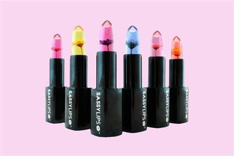 Lipstik Bunga Transparan lipstik cantik yang bisa berubah warna meramuda