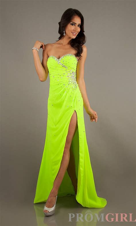 neon colored dresses best 25 neon prom dresses ideas on neon
