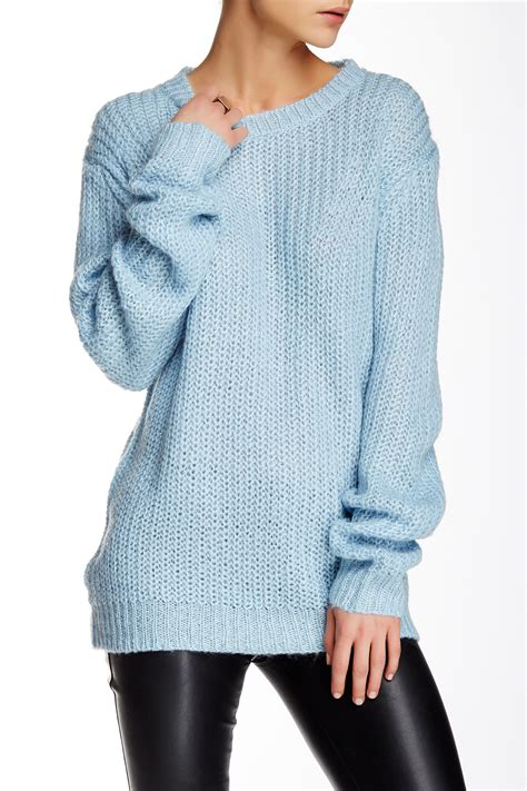 shaker knit sweater poof shaker knit sweater nordstrom rack