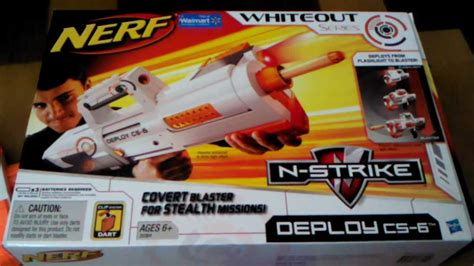 Nerf Langka Deploy Cs 6 Sonic nerf deploy cs 6 whiteout series review