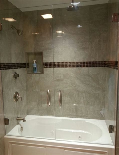 Tub With Glass Shower Door Shower Door Gallery Superior Shower Door More Inc