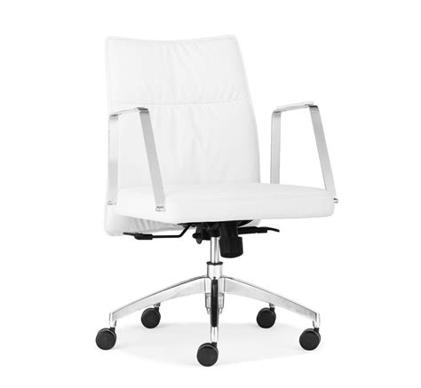 White Modern Office Chair by White Office Chair Z 137 Office Chairs