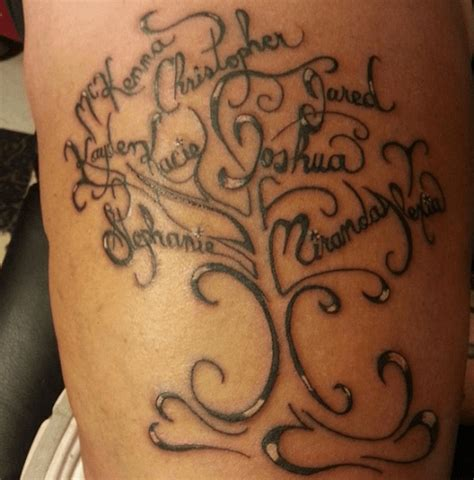 tattoo ideas deceased family members family tree tattoo ideas for men and women