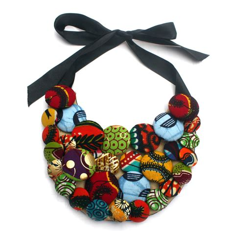 ankara fabric necklace want to be creative then these diy ankara necklaces are