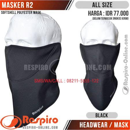 Masker Motor masker respiro dan aksesoris distrojaketmotor
