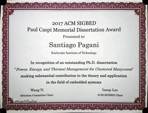 acm doctoral dissertation award transregional collaborative research centre 89 invasive