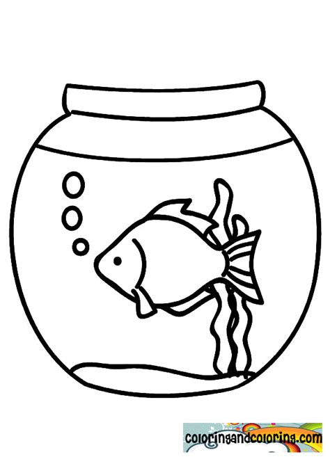 coloring pages fish bowl free coloring pages of fishbowl