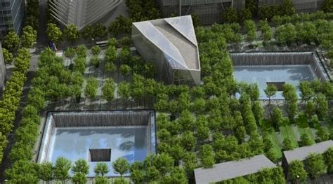 a place of remembrance 9 11 memorial uses green design to create a place of remembrance inhabitat new york city
