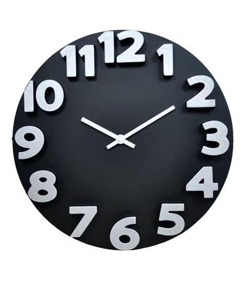 Home Design 3d App Download by Klok 3d Analog Wall Clock Black Wall Clock Buy Klok 3d