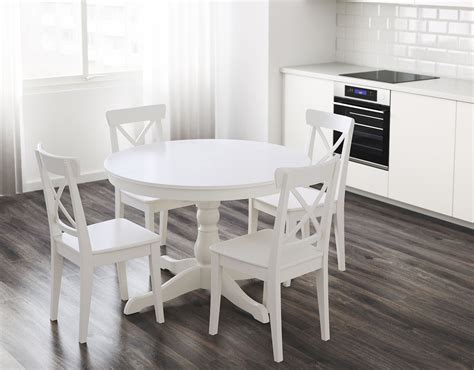 round white dining room table ikea round dining room table peenmedia com