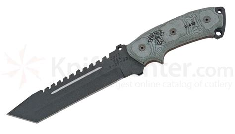 tops steel eagle 107d tops knives steel eagle fixed 7 quot carbon tanto blade