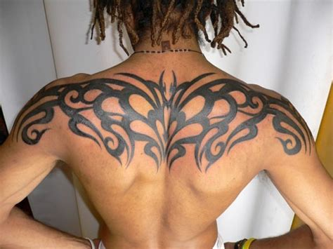 upper body tribal tattoos 25 excellent tribal back tattoos creativefan