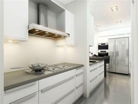 Cocinas Blancas Y Grises Los 50 Dise 241 Os M 225 S Actuales Gray And White Kitchen Designs