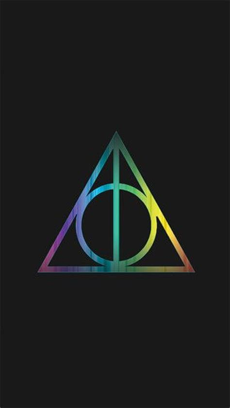 Deathly Hallows Iphone Wallpaper
