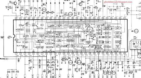 gambar skema ic msp gbr elektronik servis tv