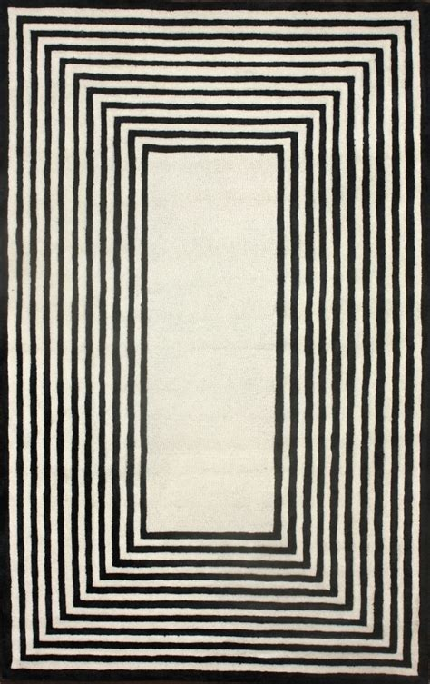 Black Border Rug by 25 Area Rugs Two Thirty Five Designs