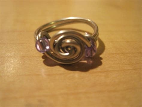 how to make rings out of wire and wire ring 183 how to make a ring 183 jewelry and