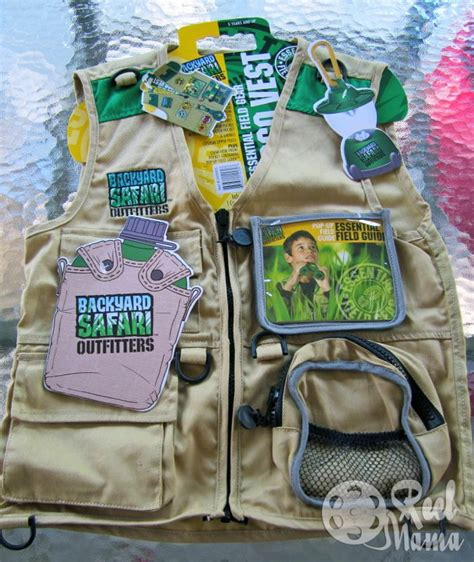 backyard safari adventures backyard safari outfitters cargo vest with lots of pockets
