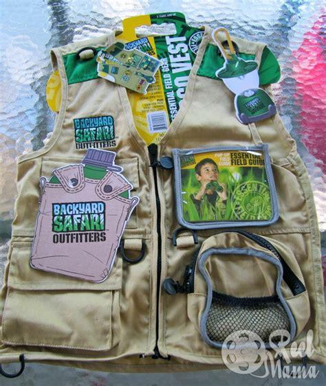 backyard safari vest backyard safari outfitters cargo vest with lots of pockets