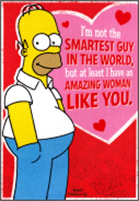 simpsons valentines cards the simpsons archive greeting cards