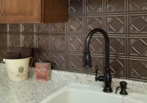 tin tile backsplash ideas remodelaholic 25 great kitchen backsplash ideas