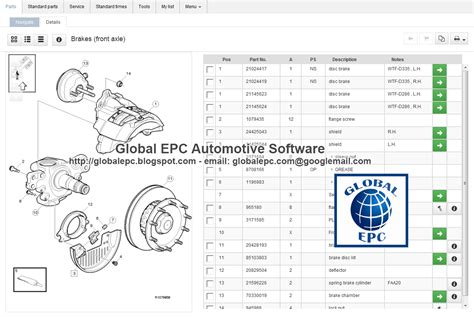 volvo truck parts catalog global epc automotive software volvo impact trucks