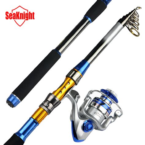 Elenxs Telescopic Fishing Rod 4000 Series Spinning Fishing Reel Se aliexpress buy seaknight 2015 new throwing sea 3 6m telescopic fishing rod 4000