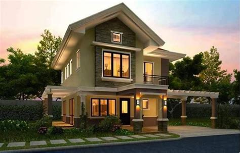 story home 20 images of beautiful two story houses bahay ofw