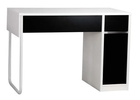 Fun And Funky Black And White Home Office Desk Workstation Black White Desk