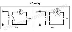 no spst relay normally open relay