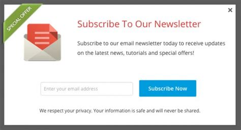 Subscribe To Flyaway Cafe By Email by Popup Plugin For Email Signup Form