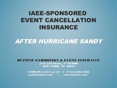 Event Cancellation Insurance
