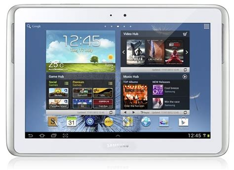 Samsung Tab Note N8000 samsung galaxy note 10 1 is official and out in the market
