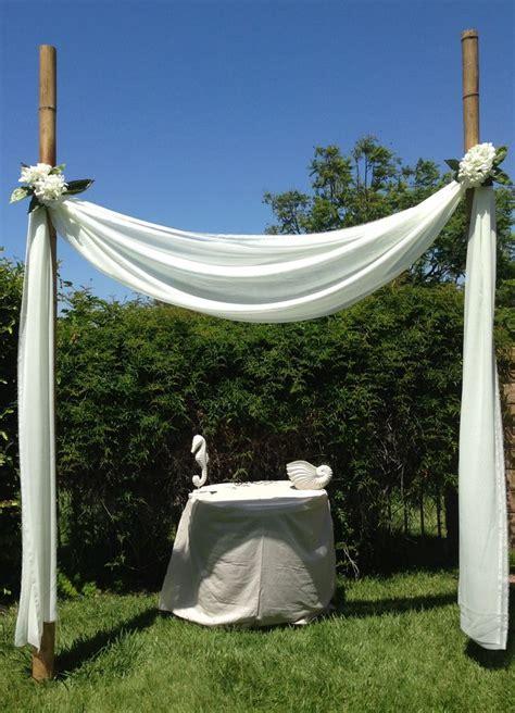 Best 25  Bamboo wedding arch ideas on Pinterest   Beach