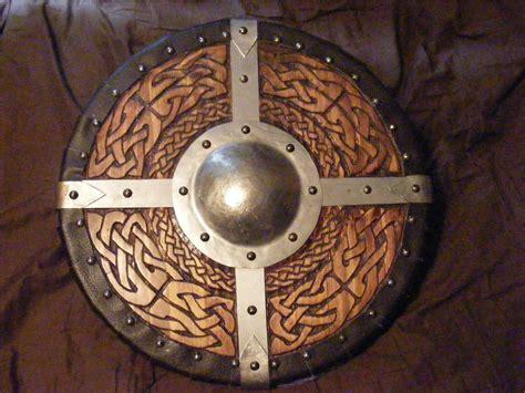 Where To Buy Upholstery Tacks Viking Round Shield 1 Of 2 By Knightofsparda On Deviantart
