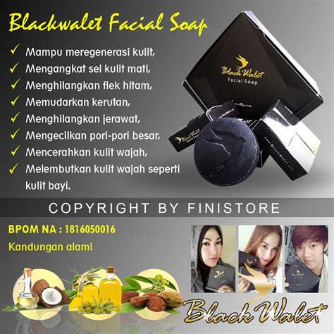 black walet facial soap bpom pusat stokis agen stokis