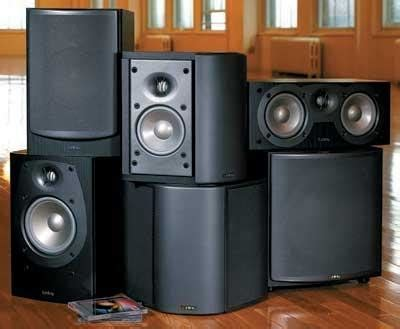 infinity beta home theater speaker system sound vision