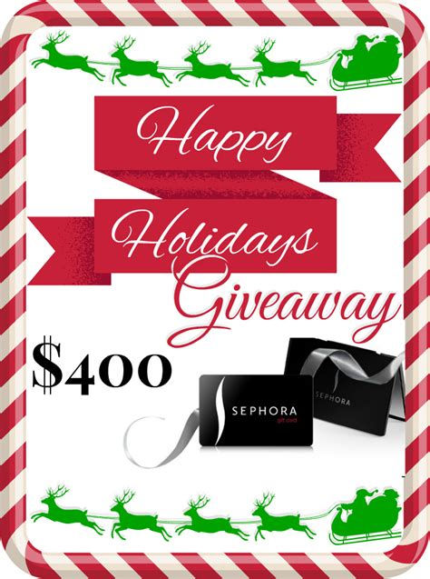 Sephora 15 Gift Card - 400 sephora gift card giveaway
