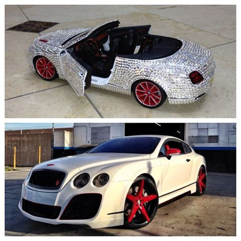 the game bentley truck the game gives his bentley gt a makeover celebrity cars blog