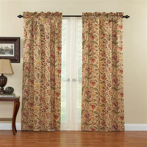 dress curtains waverly imperial dress curtain panel walmart com