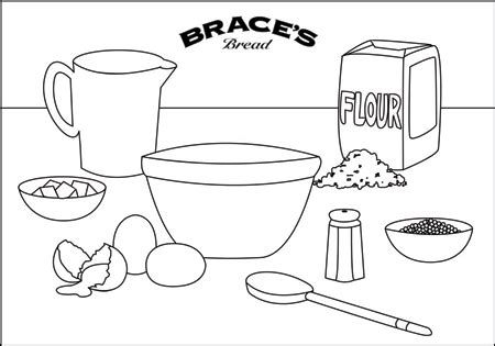 brace s bakery colouring in sheets