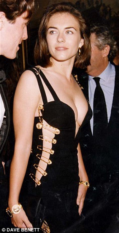 Buy Elizabeth Hurleys Safety Pin Versace Dress by Fashion Nostalgia Gianni Versace