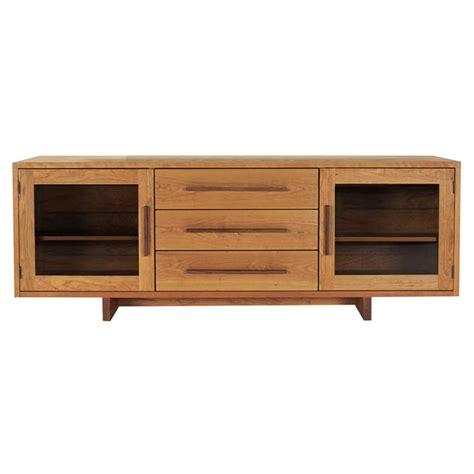 modern buffet sideboard modern american buffet sideboard in solid hardwood with