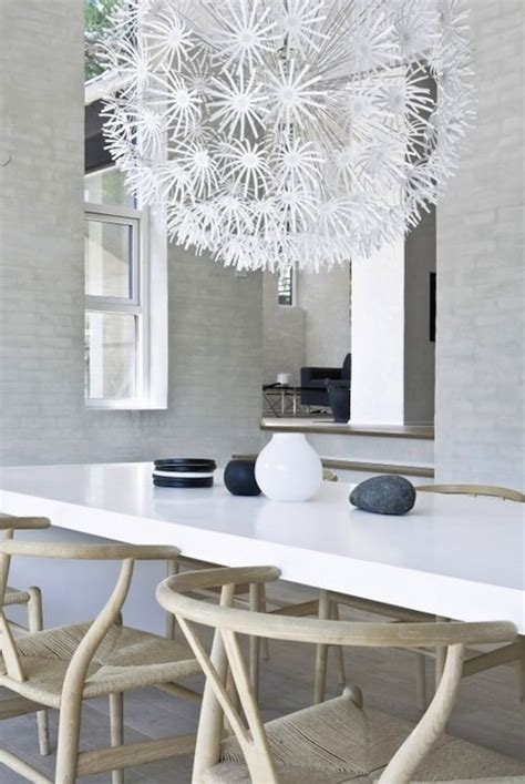 ikea chandelier modern dining room
